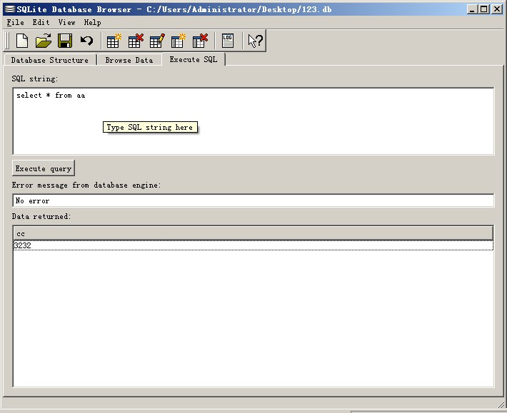 SQLite Database Browser数据库查看器图文使用教程及应用下载